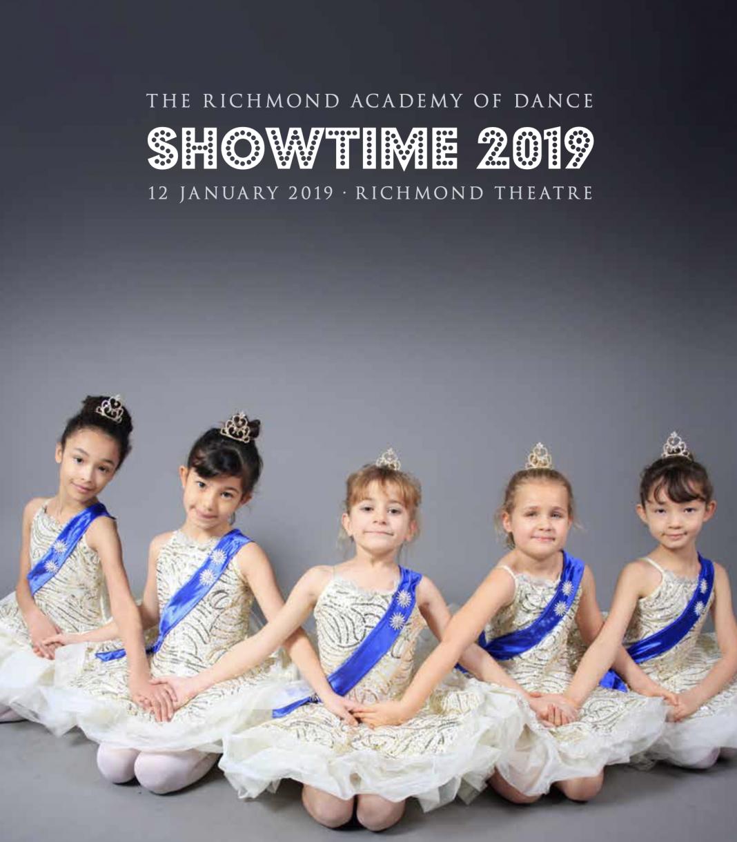 Showtime 2019 dance academy programme